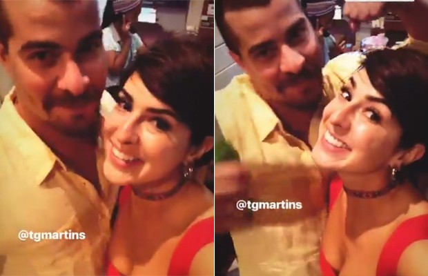 Fernanda Paes Leme e Thiago Martins