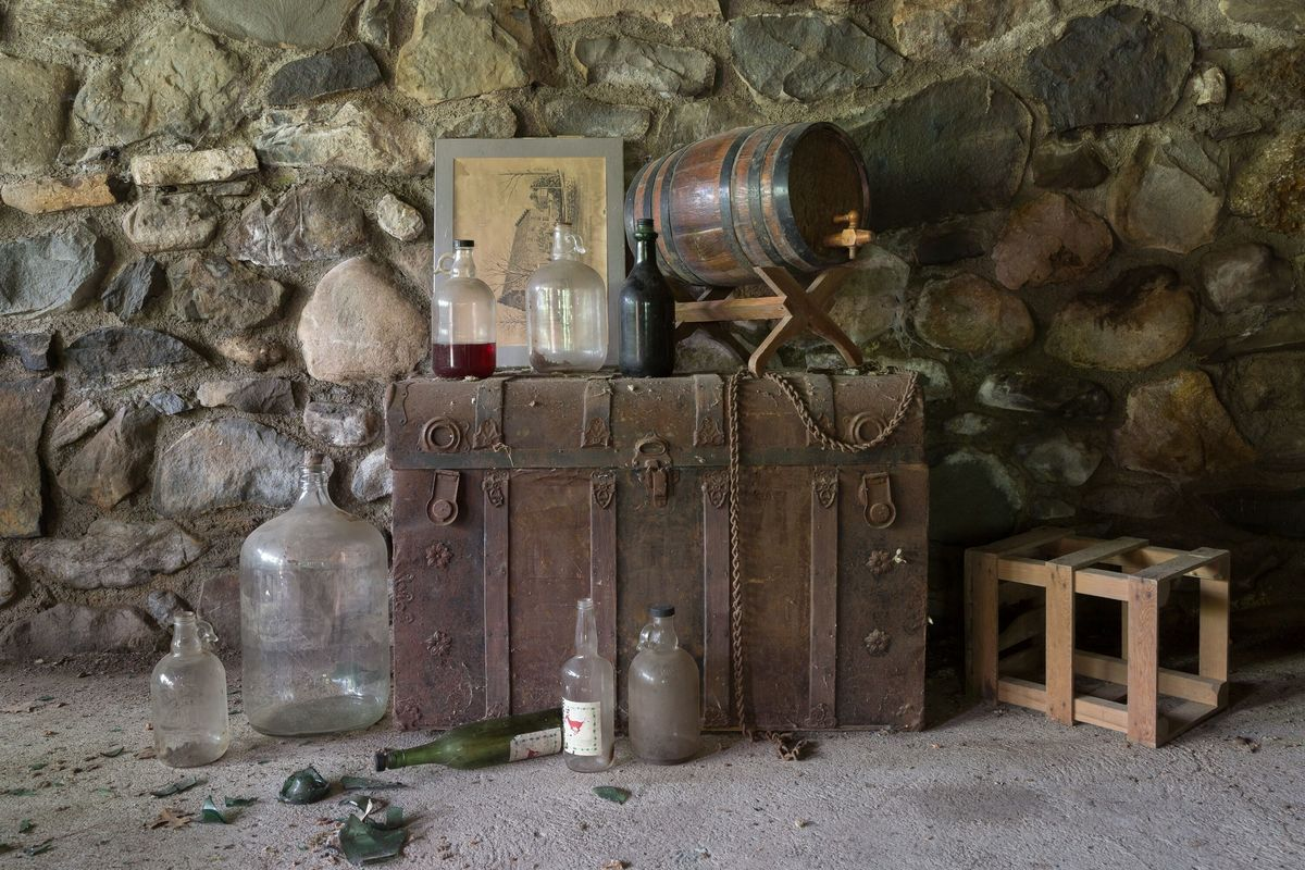 circus house distilling tools abandoned house story