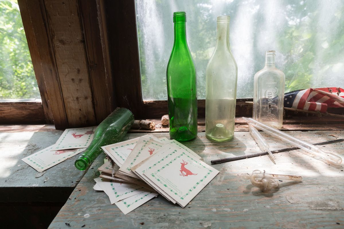 wine making at the circus house abandoned house story