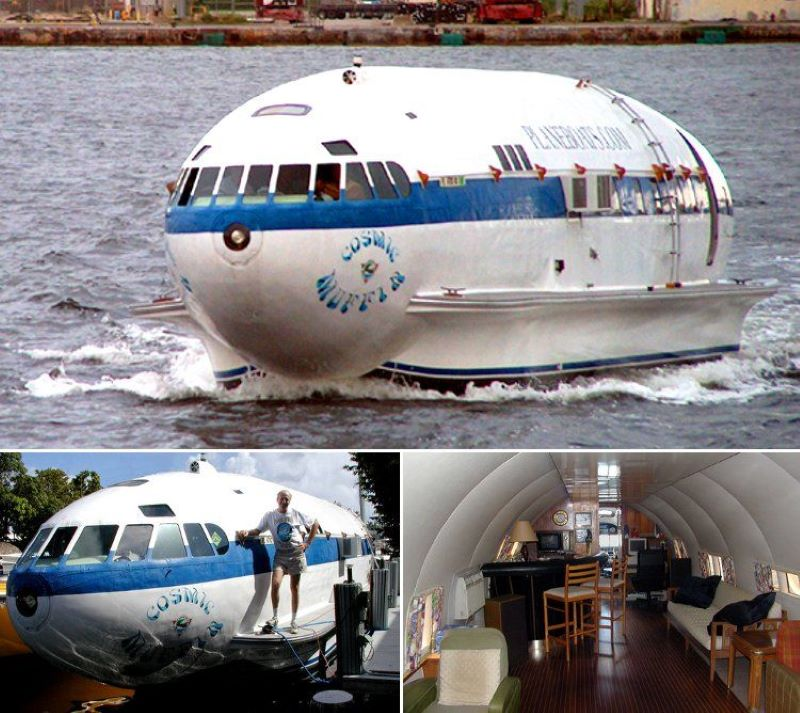 The Cosmic Muffin Houseboat