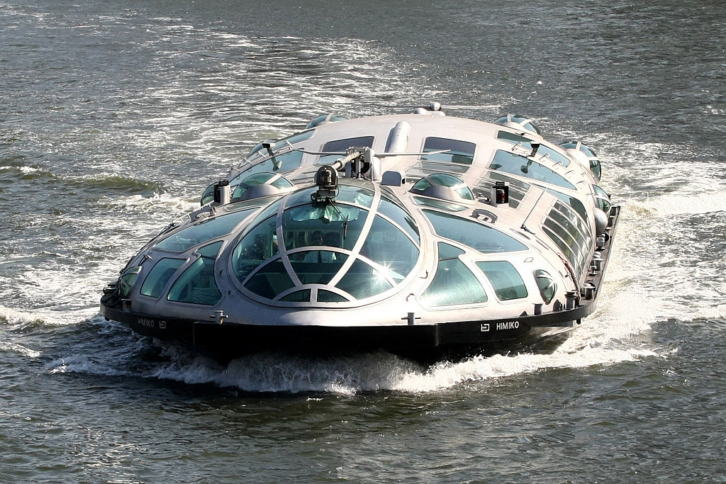 Himiko Is A Futuristic Water Taxi