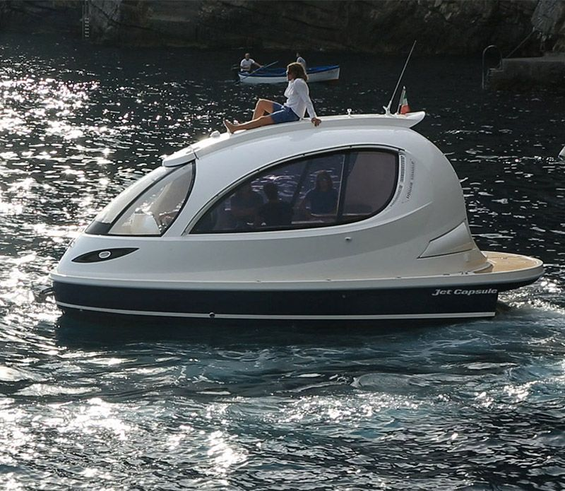 The Jet Capsule Is A Mini Luxury Yacht