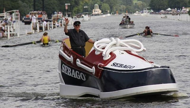 The Sebago Shoe Boat To Promote The Ultimate Boat Shoe