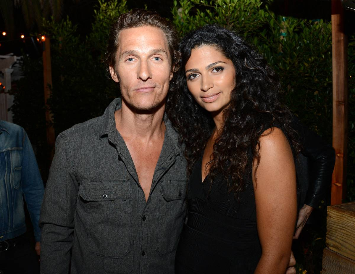 Actor Matthew McConaughey and model Camila McConaughey attend NYLON Guys and Macy's INC Celebrate the September Issue with host Matthew McConaughey at The Bungalow on August 15, 2012 in Santa Monica, California