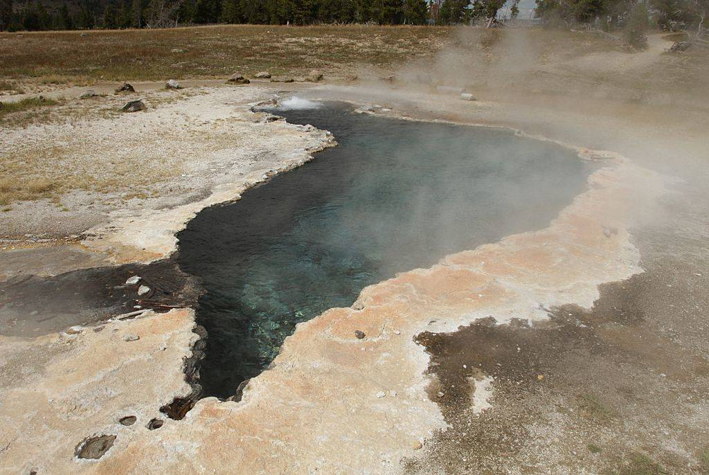 Picture of hot springs