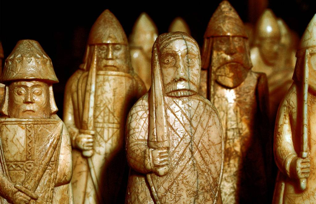Picture of wooden vikings