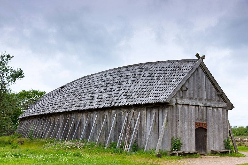 Picture of longhouse