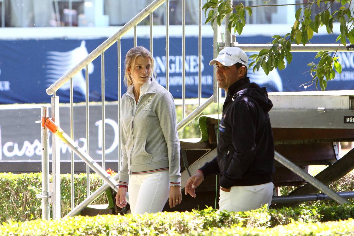 Celebrities Attend Global Champion Tour in Madrid - Day 2