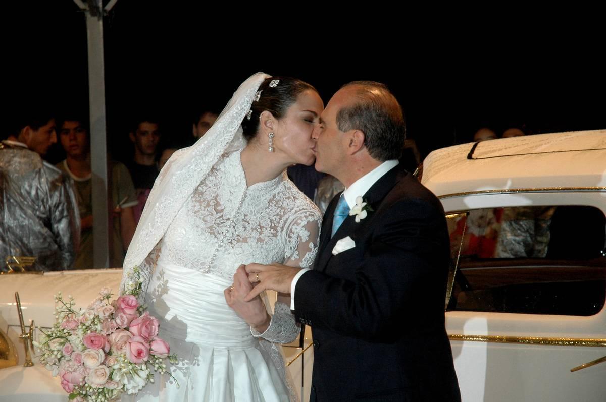 Luciana Morad Gimenez and Marcelo de Carvalho Wedding - August 20, 2006