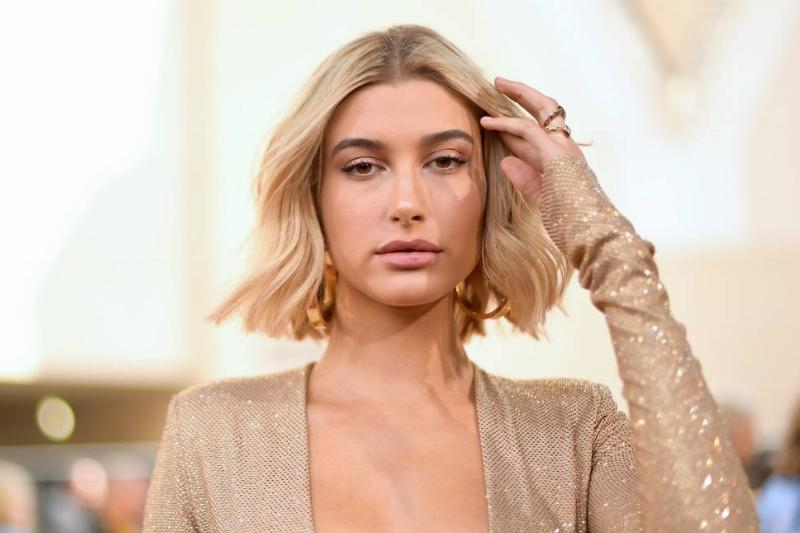 Model Hailey Baldwin attends the 2018 Billboard Music Awards at MGM Grand Garden Arena on May 20, 2018 in Las Vegas, Nevada