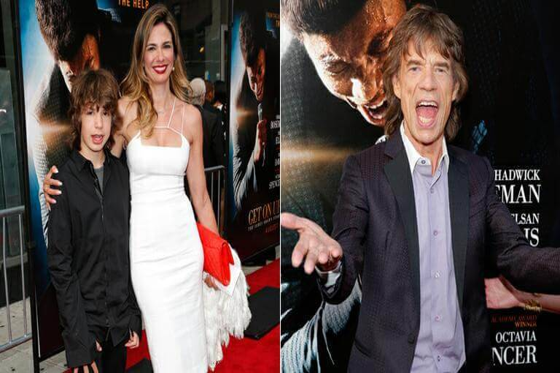 Luciana Gimenez e Mick Jagger