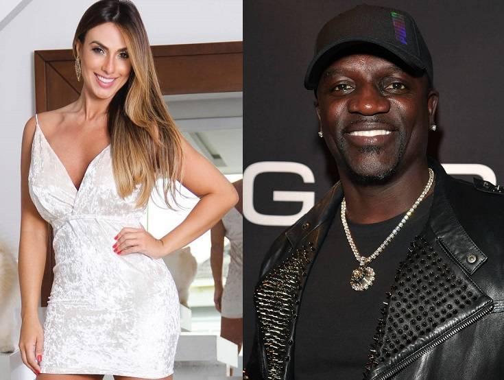 Nicole Bahls e Akon