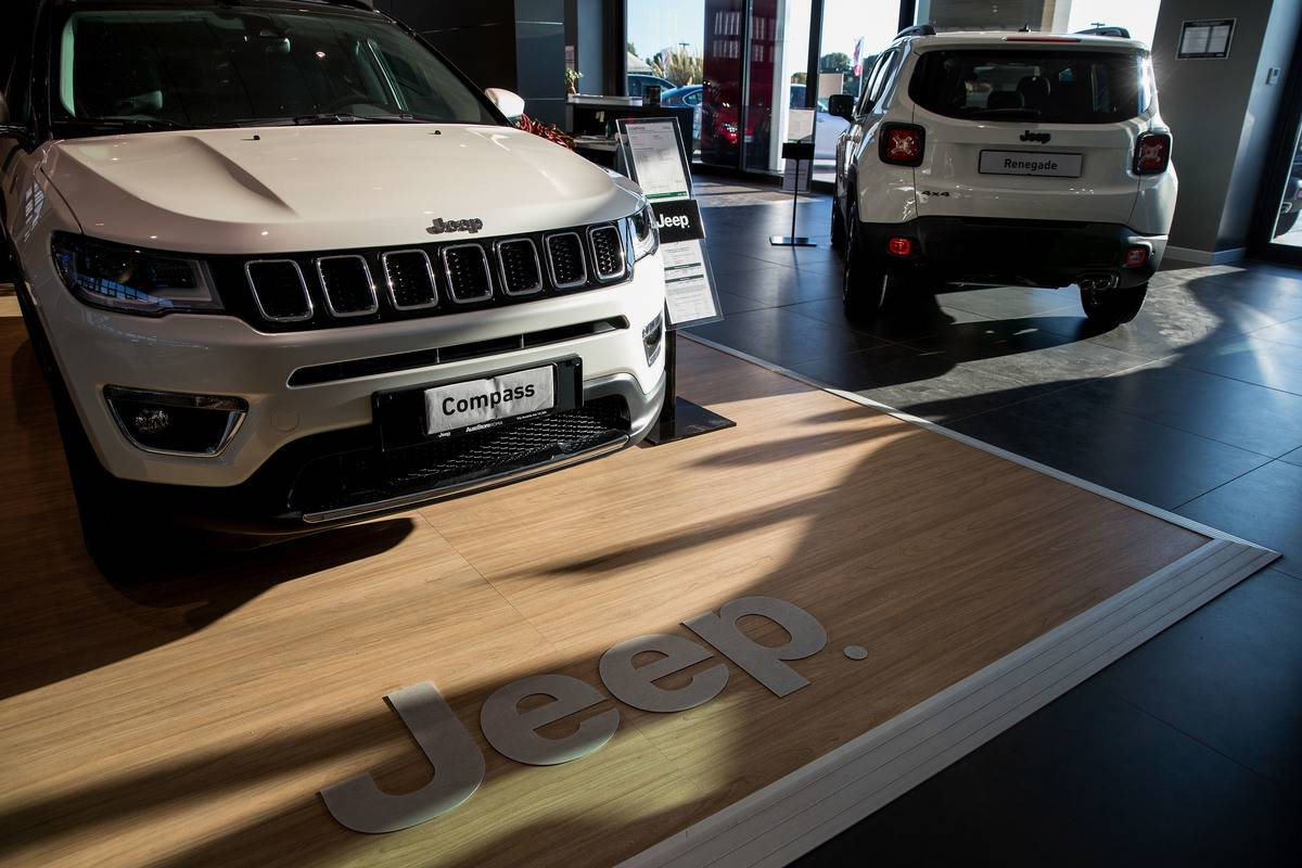 Jeep Dealership As Fiat Chrysler Automobiles NV Envisions Global SUV Giant To Fulfill Auto Dreams