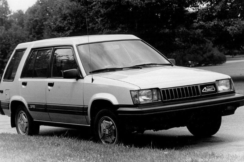 JUL 26 1985, JUL 27 1985; Toyota (Auto); 4 wheel Tercel;